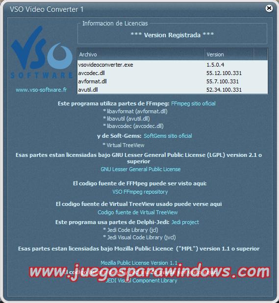 VSO Video Converter v1.5.0.4 Multilenguaje ESPAÑOL Convierte Archivos De Video a Otros Formatos (F4CG) 7