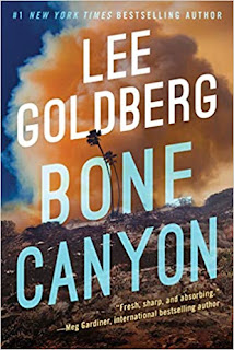 Book Review and GIVEAWAY: Bone Canyon, by Lee Goldberg {ends 1/7}
