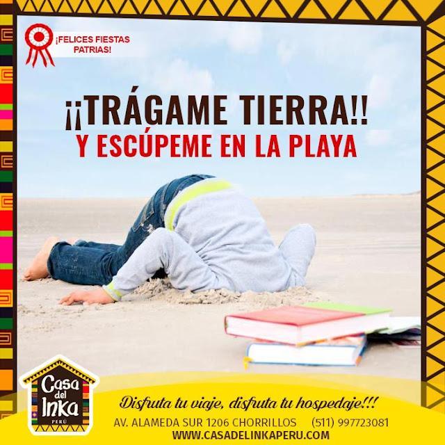descanso hotel chorrillos lima HOTEL CASA DEL INKA