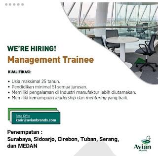 Management Training PT Avia Avian Brands
