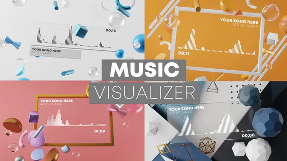 3D Music Visualizer 27017855 Videohive