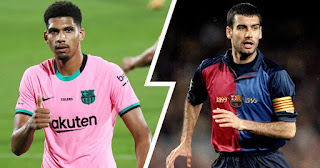List of Barcelona players to have wear the number 4 jersey before Araujo