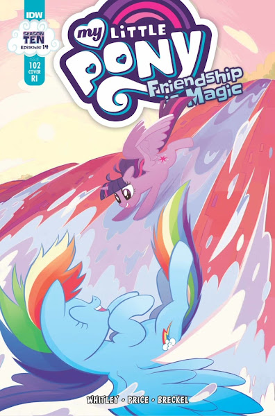 My Little Pony Comic #102 - Retail Incentive Cover
