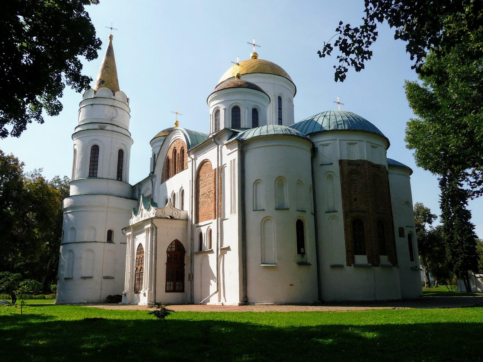 Впечатления от путешествий: Детинец. Черниговский кремль
