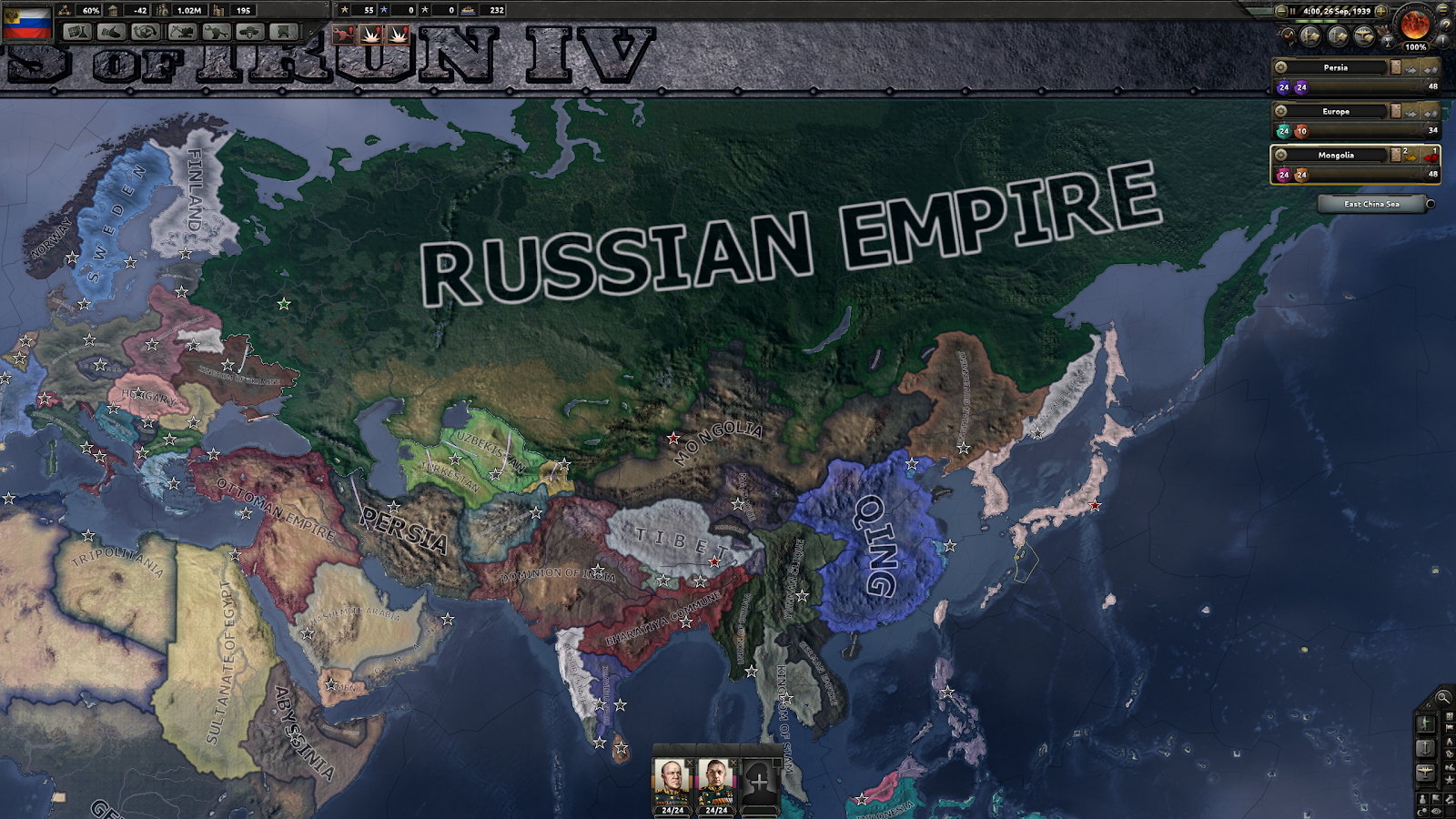 taw's gaming: Kaiserreich Russia
