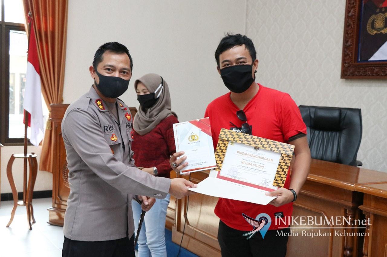 SMK Negeri 1 Kebumen Juara Lomba Video Vlog Pencegahan Covid-19