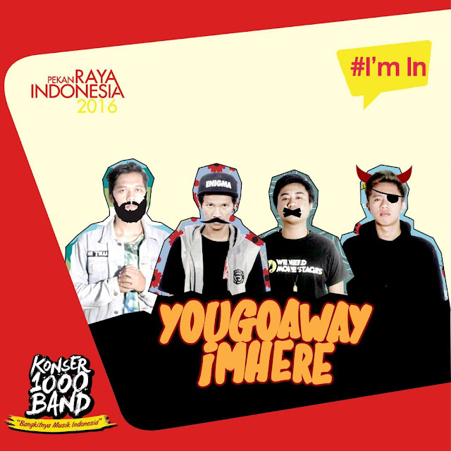 konser 1000 band Jakarta