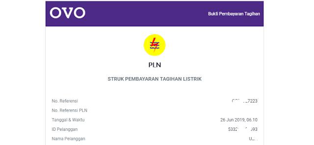 Cara Mudah Bayar Tagihan PLN Pascabayar dari Aplikasi OVO Android