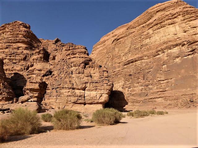 la roccia a forma di gigantesca testa