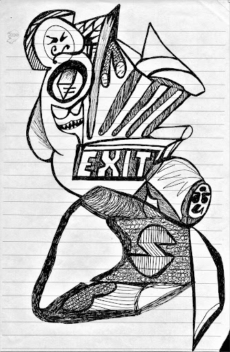 Devyn on Earth original illustration