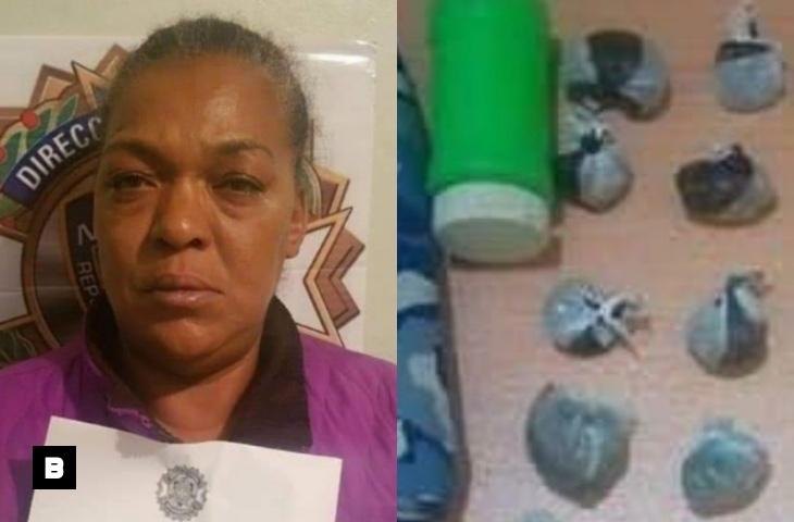 Apresan doña que vendía drogas en puesto de fritura en Ocoa
