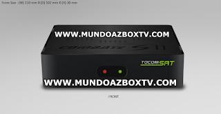 TOCOMSAT COMBATE S 2 ATUALIZAÇÃO V 1.00 21/09/2017