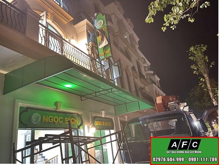 Thi công Bảng hiệu Hotel Ngọc Bích đẹp tại Phú Quốc