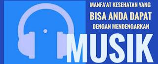 Manfa'at Kesehatan Yang Bisa Anda Dapat Dengan Mendengarkan Musik