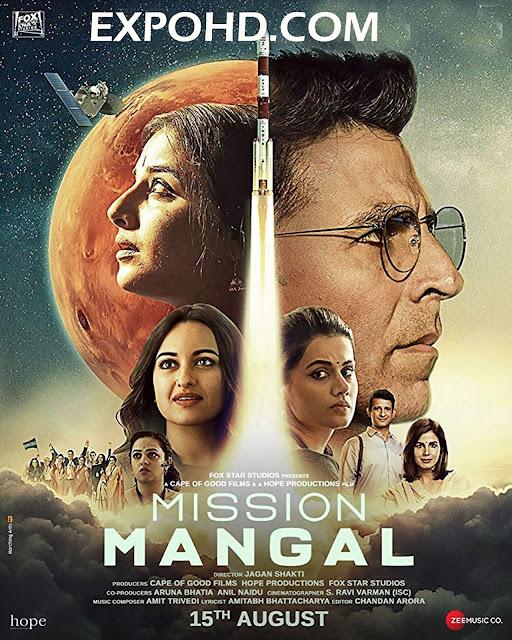 Mission Mangal 2019 Full Movie Download 720p | 1080p | HDRip x 265 [G.Drive]