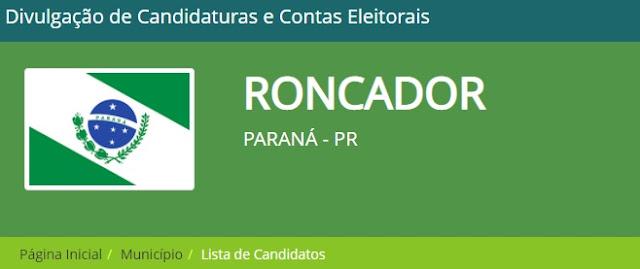 Veja quem são os primeiros candidatos de Roncador a aparecer no Divulgacand
