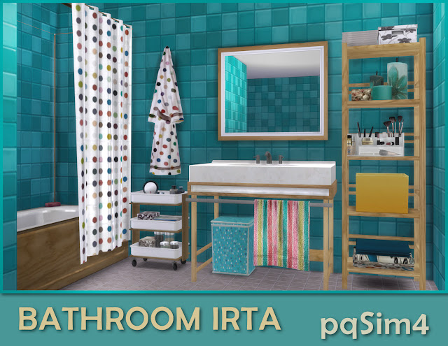 Detalle del cuarto de baño Irta.