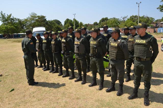 Comenzó a operar el grupo especial contra homicidios y erradicación de zonas de miedo en Valledupar