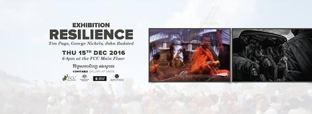 Phnom Penh - Exposition : Résilience au FCC