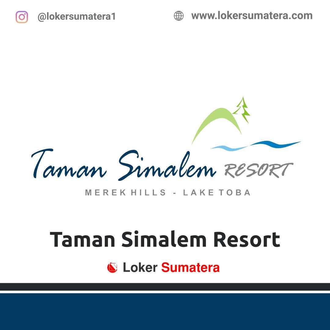 Lowongan Kerja Medan: Taman Simalem Resort Januari 2021