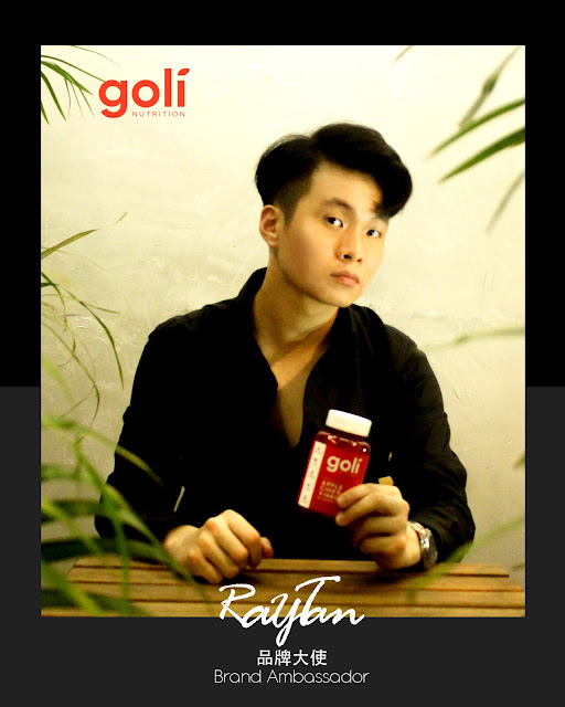 Ray Tan 陳學沿 (raytansy) ; Goli Nutrition 美国有机苹果醋软糖 独家优惠促销 GOLI Raytansy 美国 澳洲 Australia United States Brand Ambassador 品牌大使 GOLI品牌大使 West Hollywood Los Angeles LA California