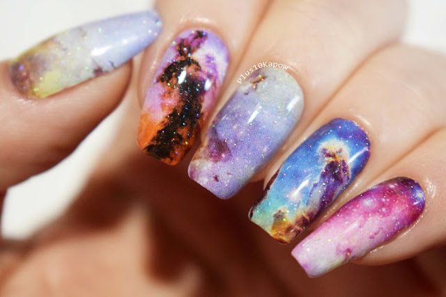 Espionage Cosmetics Eagle Nebula nerdy nail wraps