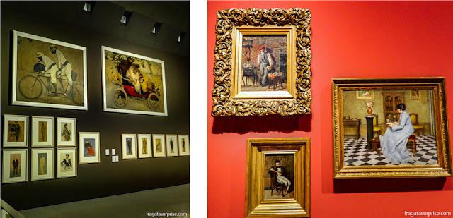 Modernismo Catalão no Museu Nacional de História da Cataluna, em Barcelona