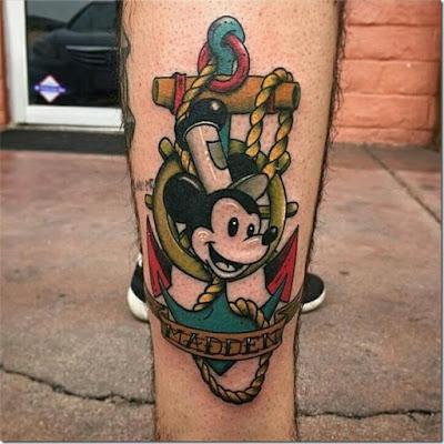 mickey mouse Disney tattoos