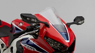 2017 Honda CBR1000RR Fireblade SP side miror