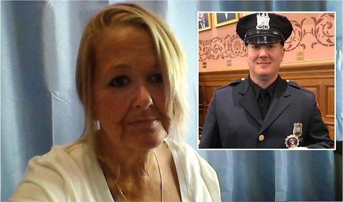 """""""¿Joe estás vivo, estás bien?"""",  el último mensaje de la madre al policía asesinado en Nueva Jersey"""