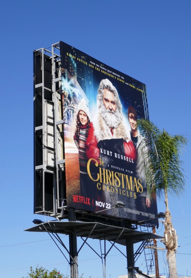 The Christmas Chronicles Poster.Daily Billboard The Christmas Chronicles Film Billboards