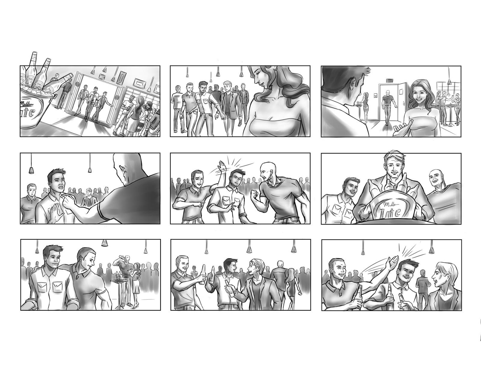 Fernando Servin Storyboard Portfolio Storyboards Live Action