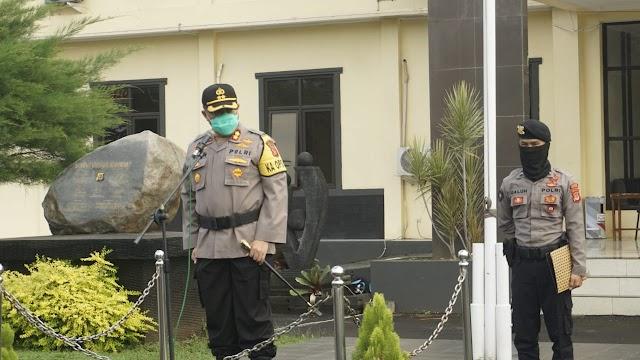 Polres Banjar Lakukan Penyekatan Di Perbatasan Provinsi Jabar - Jateng