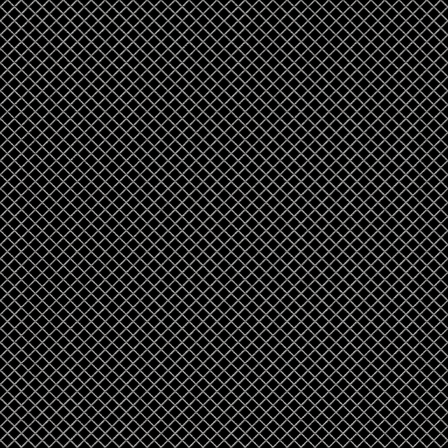 Seamless metal grill texture