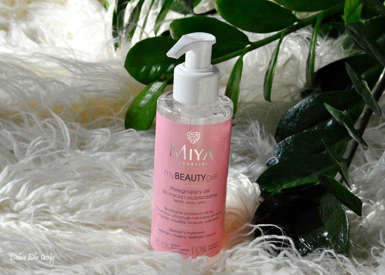 Miya myBEAUTYgel - żel do mycia i oczyszczania twarzy  recenzja