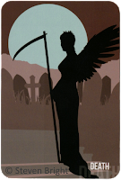 Spirit Within Tarot review Death Steven Bright blog blogger