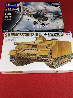 Model kits bought from Hobbycraft