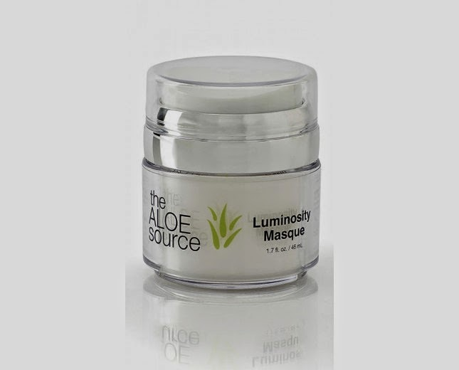 The Aloe Source Luminosity Masque- via ProductReviewMom.com