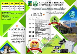 MUSCAB II & Seminar DPC PATELKI KABUPATEN KEDIRI 2019
