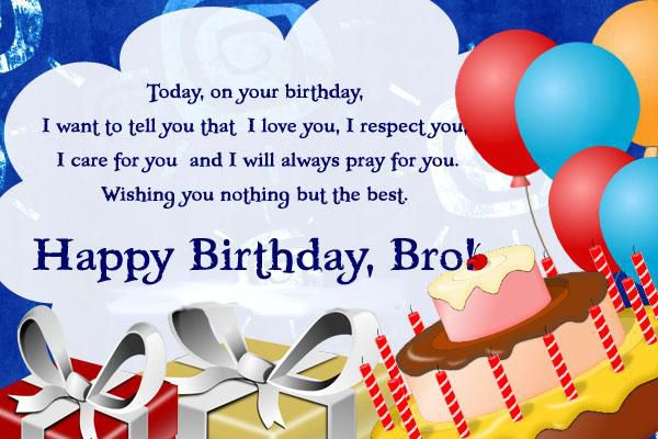 Happy Birthday Cards For Brother Gangcraft
