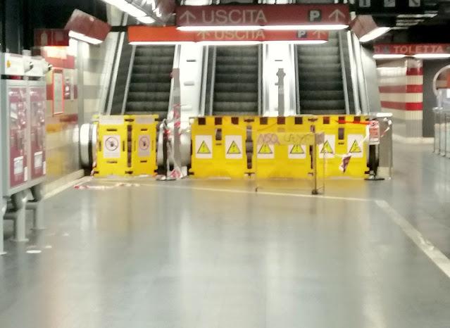 Il mistero delle scale mobili guaste