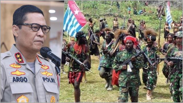 KKB Ancam Sasar Warga Jawa, Polri: Masyarakat Tak Perlu Khawatir