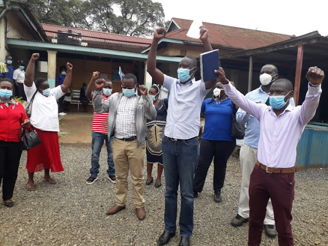 Kisumu county healthy officials