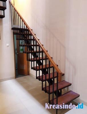 daftar harga tangga besi trap kayu, trap besi full, tangga
