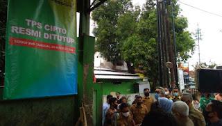 Di Kota Cirebon TPS Di Tutup Dan Akan Di Buat Taman Vespa