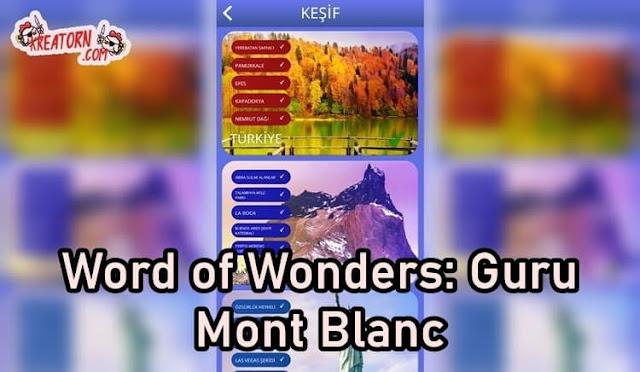 Words of Wonders: Guru Mont Blanc Cevapları
