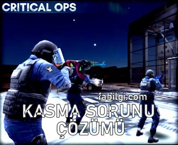 Critical Ops Kasma Sorunu Çözümü 60 FPS Config Hilesi Game tuner