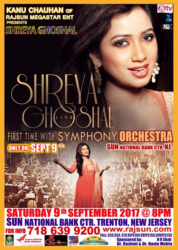 Shreya Ghoshal Live Concert 2017 USA