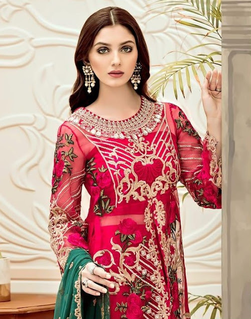 Shree Fab Afrozeh Georgette Pakistani Suits wholesaler