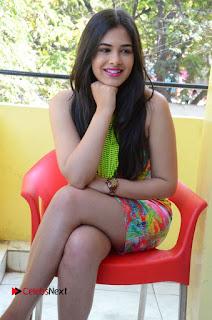 Telugu Actress Prasanna Stills in Short Dress at Inkenti Nuvve Cheppu Press Meet Stills  0137.JPG